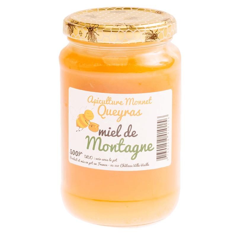 Miel de montagne 500g de l'apiculture monnet