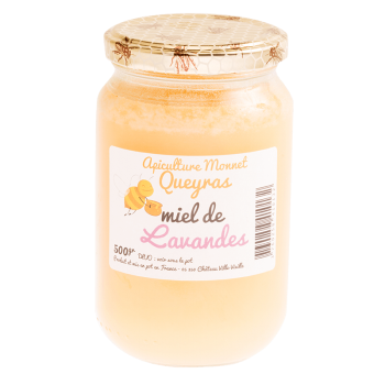 Miel de romarin 500g de l'apiculture Monnet