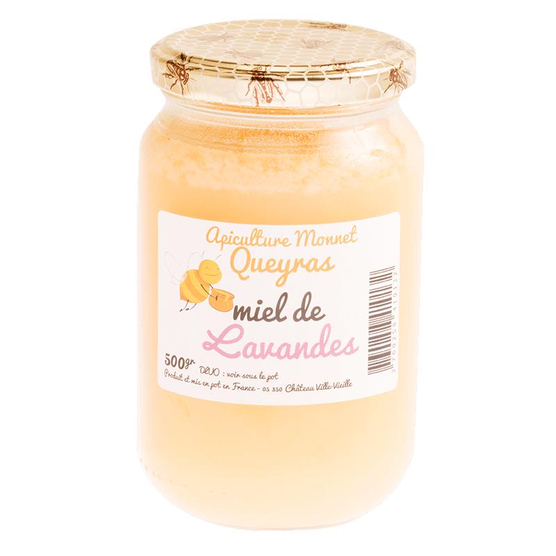 Miel de lavande 500g de l'apiculture Monnet