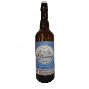 bière artisanale blanche La Sauvage