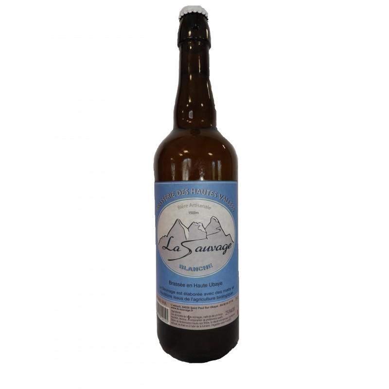bière artisanale blanche