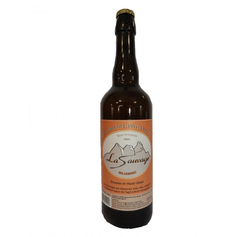 bière blonde de Haute Ubaye