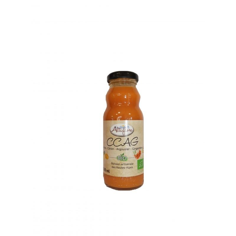 jus bio carotte citron argousier gingembre