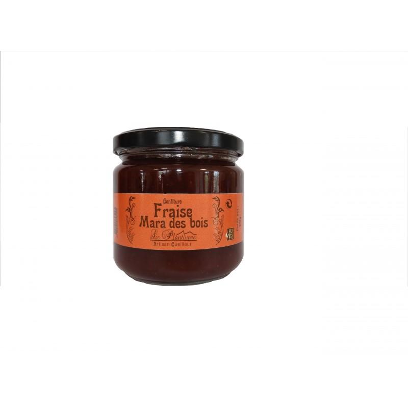 Confiture de fraise de maras des bois, Le Plantivore