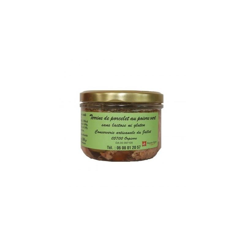 Terrine au poivre vert