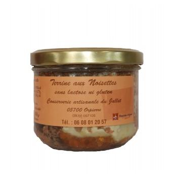 Terrine aux noisettes, de la Conserverie Artisanale du Jallet.