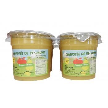 Compote pomme - poire de St Jaume Upaix