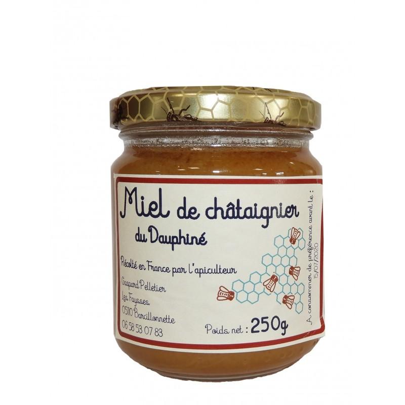 Miel de châtaignier de Gaspard Pelletier à Barcillonnette