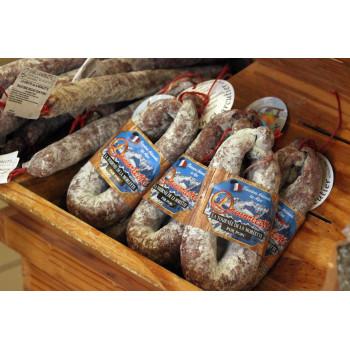 Saucisse sèche en U de la maison Lamorlette, producteur PACAA Panier