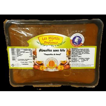 Alouettes sans tête de la boyauderie sisteronnaise, spécialiste en plats cuisinés de la Provence