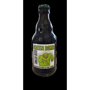 Green Bomb smash beer de la brasserie de serre ponçons, un producteur PACAA Panier