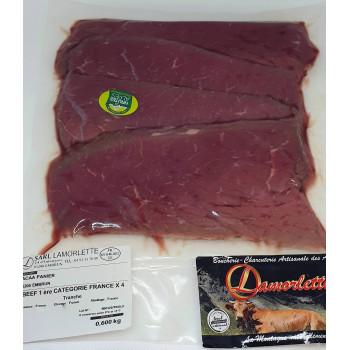 Colis de survie Lamorlette. 10 kg de viande.