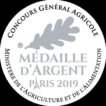 médaille d'argent concours général agricole 2019