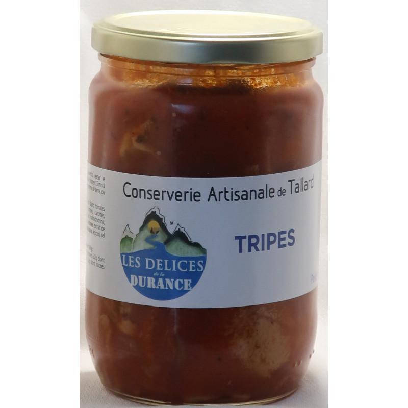 tripes à la provençale des délices de la Durance, un producteur PACAA Panier basé à Tallard