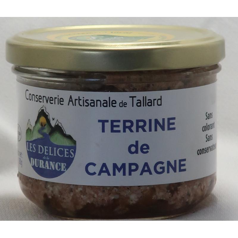 Terrine de campagne des délices de la Durance, un producteur PACAA Panier basé à Tallard