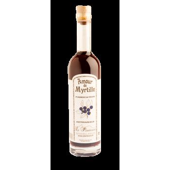 Amour de Myrtille - vin aromatisé par Le Plantivore