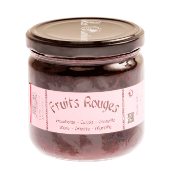 Confiture aux fruits rouges du Plantivore
