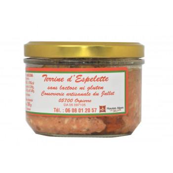 Terrine au Piment d'Espelette Conserverie du Jallet