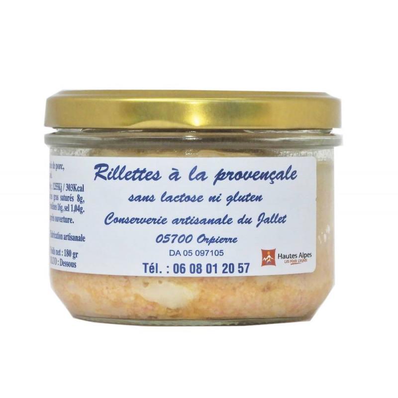 Rillettes à la provençales Conserverie du Jallet
