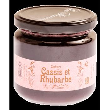 Confiture Cassis - Rhubarbe Plantivore