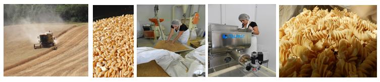 Processus de fabrication des pâtes de Mademoiselle de Provence