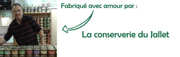Conserverie artisanale du Jallet